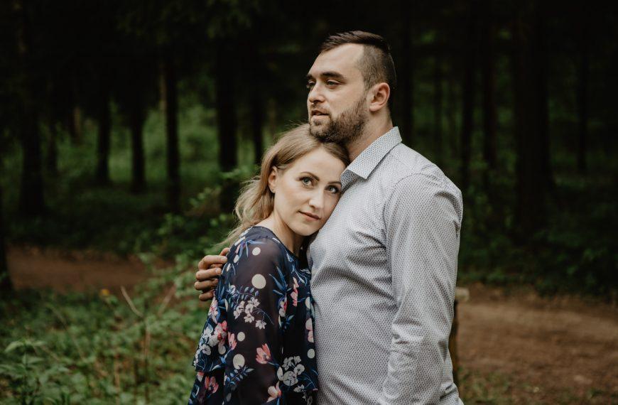 Sesja narzeczeńska Ziołowy Zakątek Podlasie – Ewa i Marcin